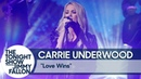 Carrie Underwood Performs Love Wins Live at Central Park