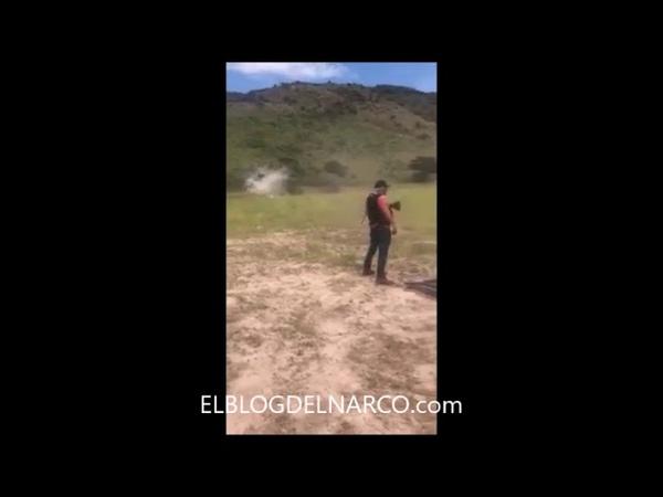 Vídeo del cartel del tigre aparece su líder Edgar Alfredo Gamboa Sosa el 11 disparando potente arma