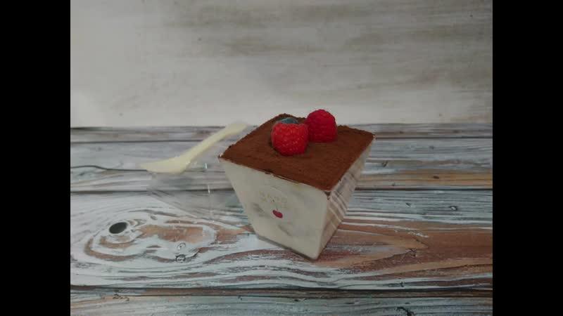 Делаем десерт Тирамису с Маскарпоне и молоком