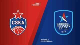 CSKA Moscow - Anadolu Efes Istanbul Highlights   Turkish Airlines EuroLeague RS Round 14. Евролига. Обзор. ЦСКА - Анадолу Эфес