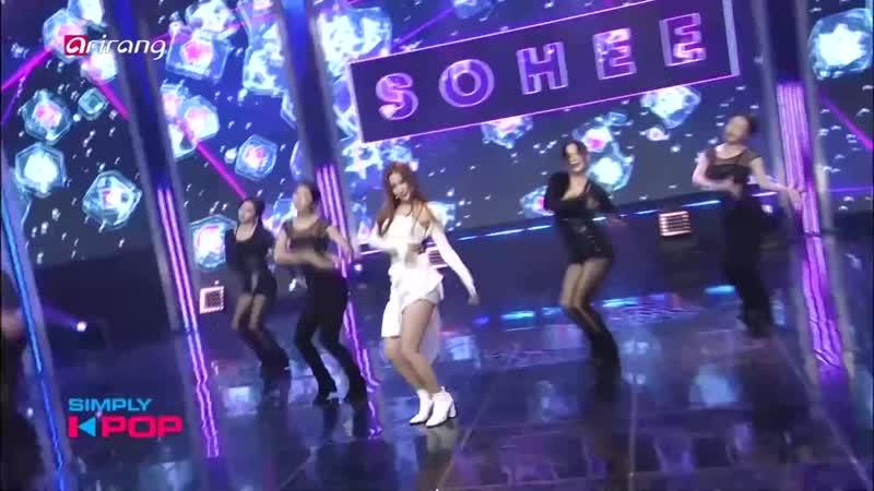 181102 Sohee Hurry Up @ Simply K pop