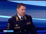 Гость студии Вестей - начальник УМВД по Ярославской области, генерал-майор Андрей Липилин