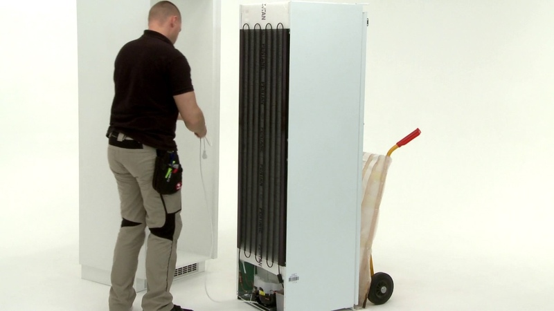 How to install your AEG Cold Cabinet - Column installation