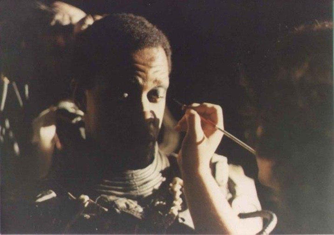 Фотографии со съемок фильмаХищник 1987 год