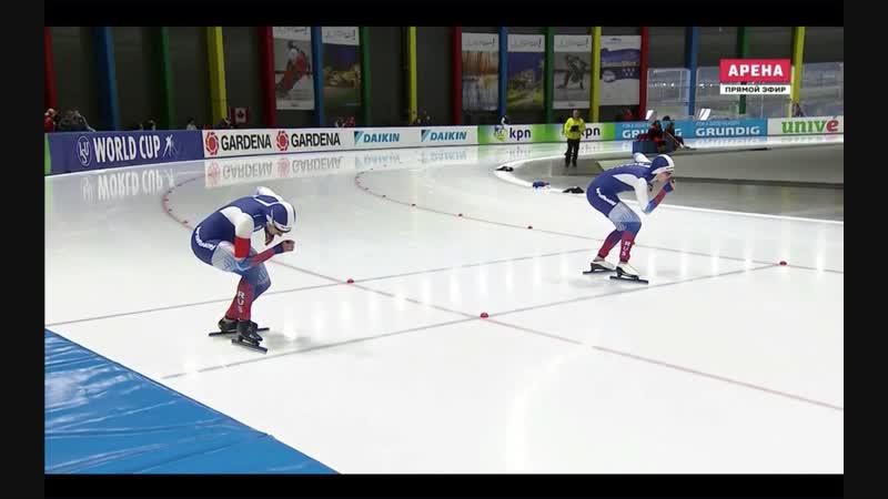 Ольга Фаткулина 500м - 38.10 Ангелина Голикова 500м - 38.35