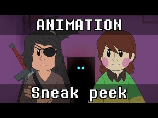 Interlopers | Chara vs Jim Sterling Sneak peek (Animation by AbsoluteDream)