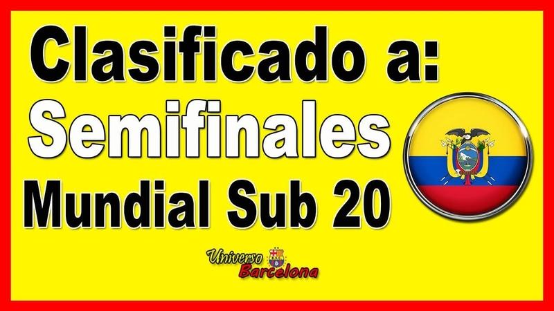 ⚽ Hsitorico Ecuador Sub 20 【En Semifinales del Mundial 2019】▷ Resumen y Goles, USA vs Ecuador