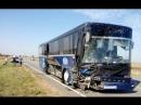 Появилось видео с места крымского ДТП в котором погибли пять человек