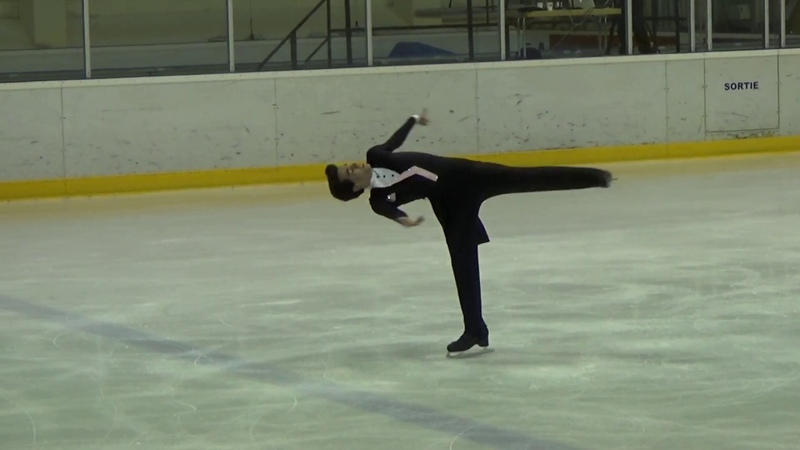CDP 2018 Junior Men SP Tomas GUARINO SABATE