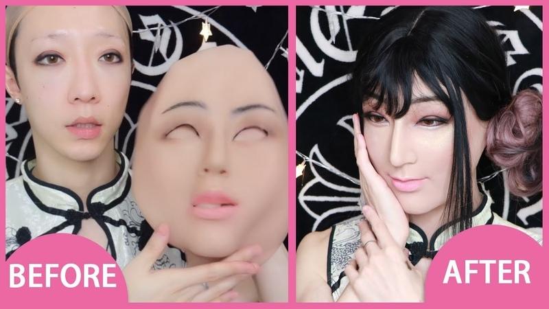 Laurel - Female silicone mask for crossdresser - Roanyer