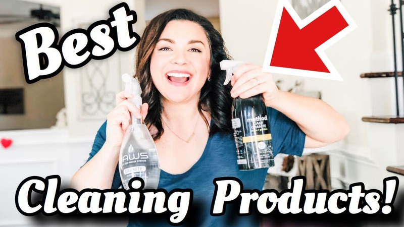 CLEANING PRODUCTS I LOVE WHERE I USE THEM