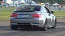 BMW M3 E92 G-POWER V8 COMPRESSOR - BRUTAL ACCELERATIONS!