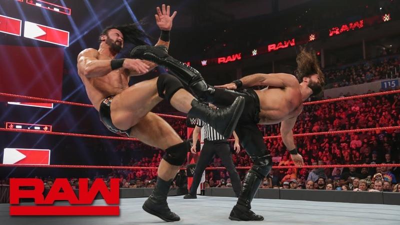 The «Kingslayer»: Seth Rollins vs. Drew McIntyre: Raw, Jan. 21, 2019
