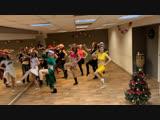 Новогоднее танцевальное поздравление от студии танца Blesk, г. Екатеринбург.