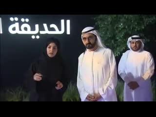 Mohammed bin Rashid Al Maktoum on Instagram ( SkyWay )