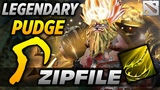 ZIP FILE LEGENDARY PUDGE PLAYER dota 2