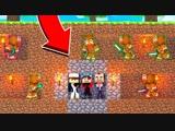 Demaster МЫ С МИСТЕРОМ ДОНХОМ(ПОЧЕМУ ОН С НАМИ) И ПИНГВИНОМ УНИЧТОЖАЕМ КУЛЬТ ПРЯНИКОВ! Minecraft Ant Wars