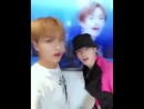 Taeyong and Haechan jamming to touch 2018