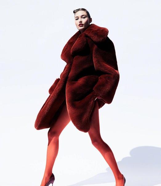 Грейс Элизабет Vogue Китай, Декабрь 2018