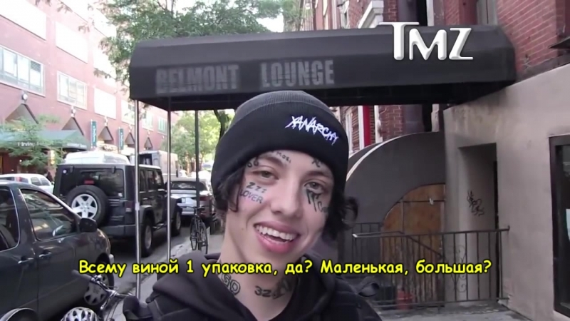 Lil Xan for TMZ about Cheetos overdose