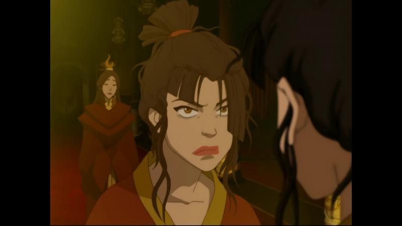 Азуле мерещится мать: Я знаю, что ты обо мне думаешь, думаешь, что я монстр! (Аватар: Легенда об Аанге)