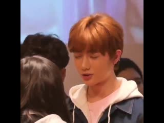Beomgyu trying to calm