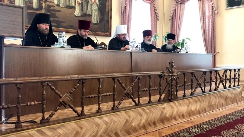 Состоялось собрание духовенства Харьковской епархии