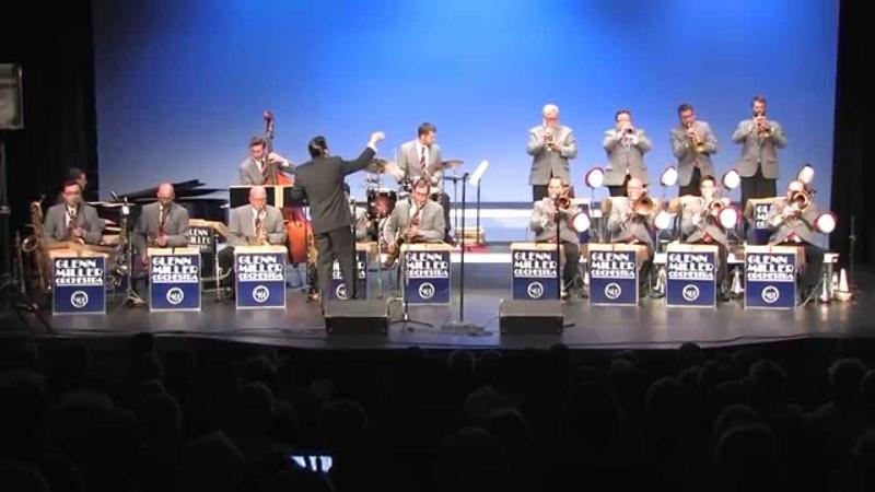 The Glenn Miller Orchestra Performs Moonlight Serenade Anvil Chorus