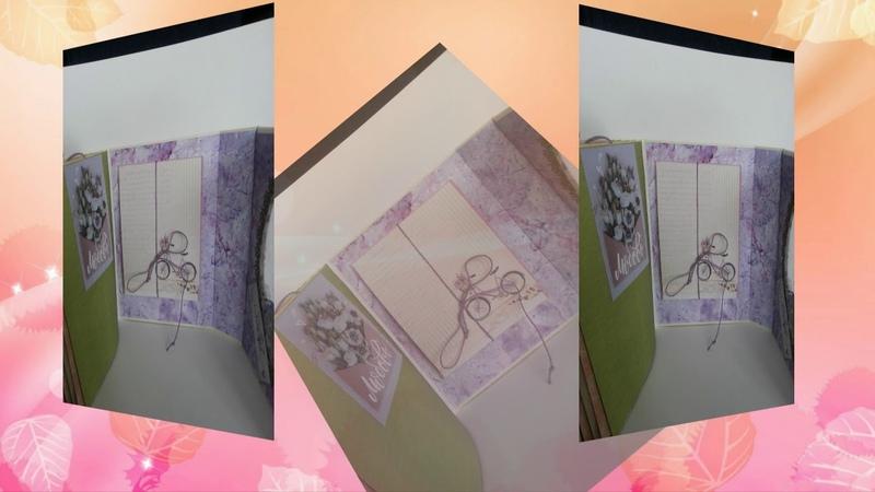 Папка альбом для фотографий с шейкером