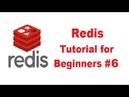 Redis Tutorial for Beginners 6 more commands SETEX SETNX INCR DECR MSET