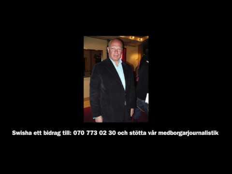 Livrädd Robert Aschberg flyr GS-Johan Andersson