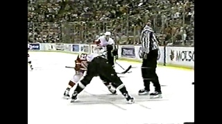 Maxim Kuznetsov goal vs Dallas Stars for Red Wings (2001)
