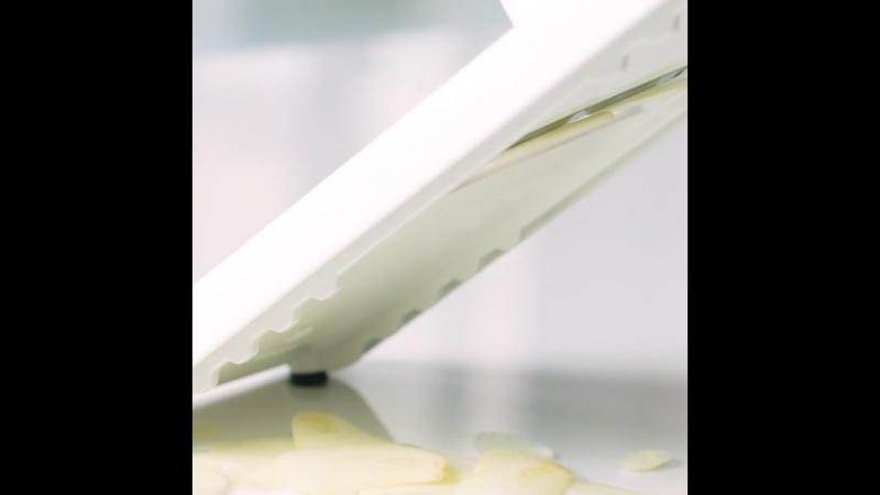 Шинковка Мандолина Турбо идеально нашинкует самые мелкие ингредиенты!