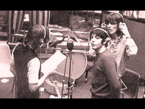♫ The Beatles during the White album session at Trident Studios 1968 photos