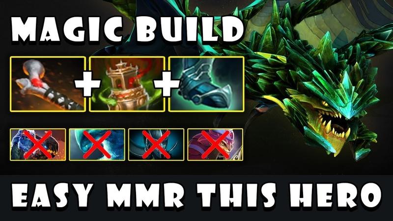 [Viper] Boosting MMR HERO | Magic Build Rod of Atos Spirit Vessel in 15Min FullGame Dota 2 7.21c