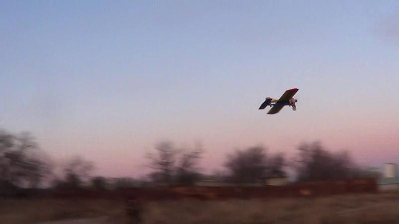 Кордовая электро-пилотажная ФИГА. Пробный старт при ветре 5 м/с.
