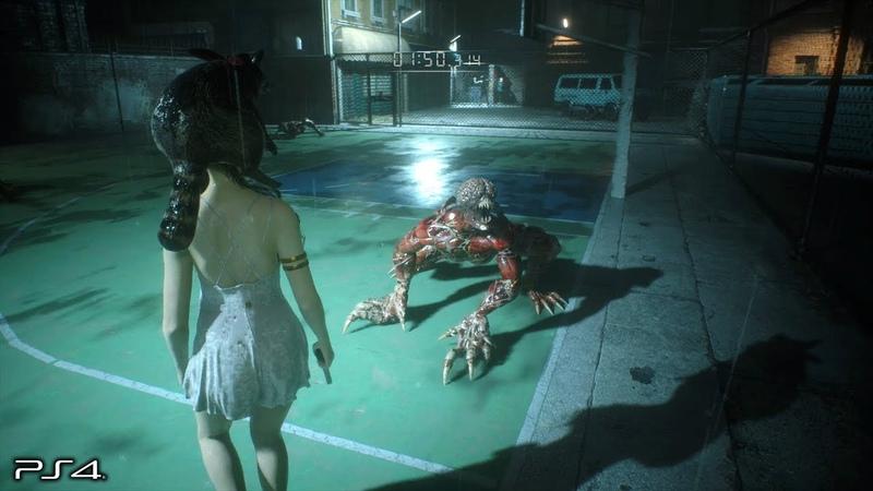 Resident Evil 2 Remake Runaway DLC No Damage The Ghost Survivors PS4 PRO