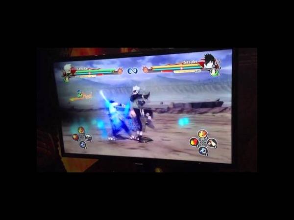 Naruto Shippuden Ultimate Ninja Storm Revolution - Kakashi Moveset Gameplay