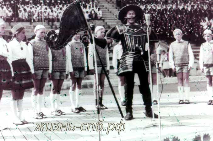 Советская Эстония. г.Таллин. На празднике песни. Старые фотографии прошлого века