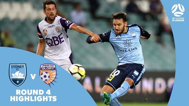 Hyundai A-League 2017/18 Round 4: Sydney FC 2 - 0 Perth Glory