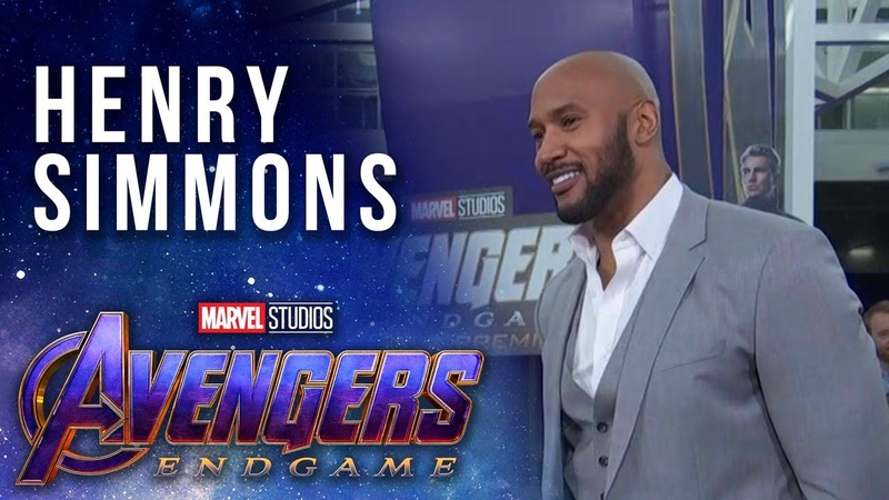 S.H.I.E.L.D. Director Henry Simmons LIVE at the Avengers Endgame Premier