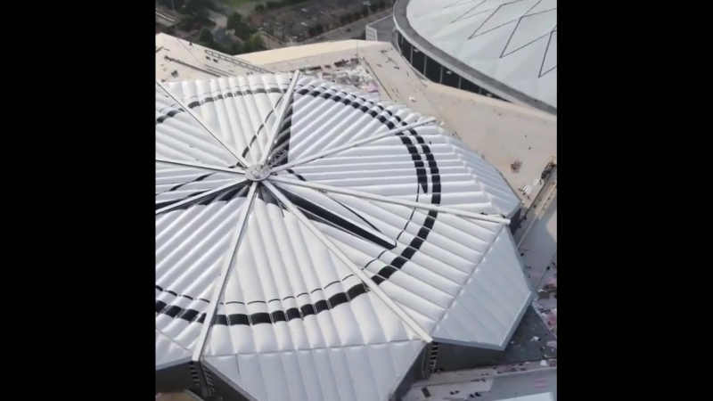 Стадион Mercedes Benz Arena в Атланте от студии HOK Network Архитектура@cv_kit