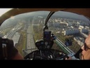 Piloting R44 over Moscow belt highway / Полет на R44 над МКАДом
