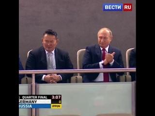 Путин посетил состязания чемпионата мира по дзюдо в Баку