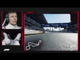 Sergey Sirotkin's Virtual Hot Lap Of Russia | Russian Grand Prix