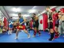 Тренировка Клуб кикбоксинга К-1 Святослав