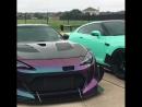 Subaru WRX STI and Subaru BRZ and Nissan GT-R