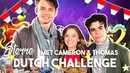 THOMAS DOHERTY CAMERON BOYCE TRY DUTCH FOODS AND GAMES