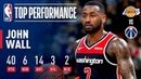 John Wall's 40-Point Double-Double Guides Washington To Win Over Lakers | December 16, 2018