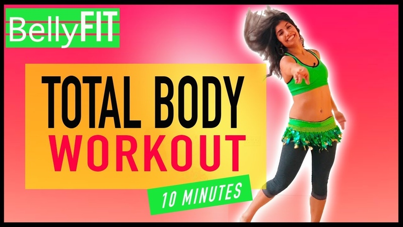 10-min Full Body Burn | Workout Belly Dance